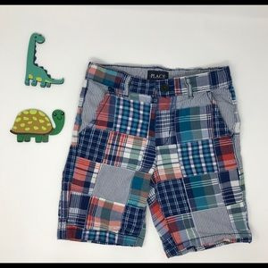6 Boy PLACE Brand Plaid Shorts